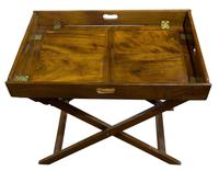 Early 19th Century Rectangular Drop Sided Butler's Tray (3 of 9)