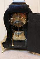 French Tortoiseshell & Brass inlay Mantel Clock (11 of 14)