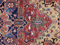 Antique Heriz Carpet 3.20m x 2.37m (8 of 10)
