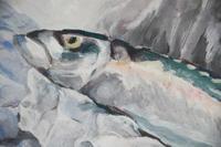 Still Life - Mackerel Oil Painting (10 of 11)
