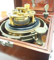 Original Thomas Mercer 2-day Marine Chronometer Ships Clock– Chain Fusee Earnshaws Detent Escapement Box & Key (11 of 14)
