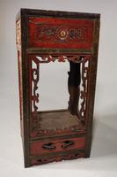 Quite Rare Pair of Late 19th Century Oriental Tall Stands (2 of 5)
