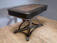 19th Century Art & Crafts Library Table (9 of 12)