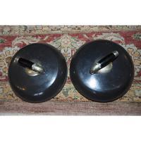 Superb Pair of Scottish Granite Curling Stones (2 of 5)