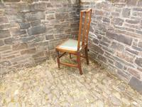 Richard Norman Shaw Set of Eight Chairs (5 of 9)