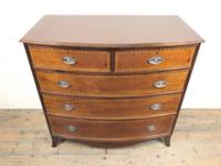 Quality 20th Century Bow Front Mahogany Chest of Drawers (2 of 12)