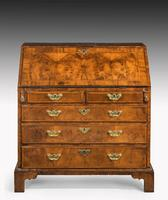 Mid 18th Century Walnut Bureau of Exceptional Colour & Patina (2 of 8)