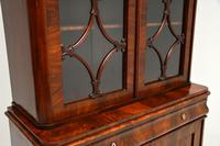 Antique French Walnut Bookcase on Cupboard (10 of 11)