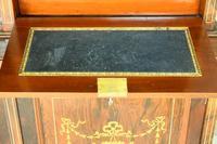 Edwardian Inlaid Rosewood Bookcase (11 of 12)