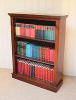 Late 19th Century Mahogany Open Bookcase c.1890 (11 of 11)