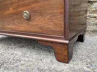 Small Antique Georgian Mahogany Chest of Drawers (15 of 16)