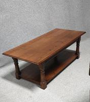 Super Plank Top Oak Coffee Table