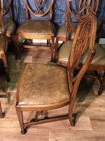 Quality Set of Eight Mahogany Dining Chairs (3 of 18)