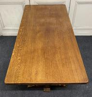 Solid Oak Refectory Dining Table (6 of 11)
