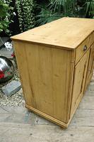 Old Georgian Pine Dresser Base / Sideboard / Cupboard / Cabinet - We Deliver! (5 of 10)