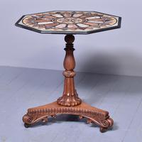 Antique Specimen Marble & Padouk Table (8 of 8)