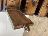 Mid 20th Century Art Deco Style Oak Bureau (15 of 15)