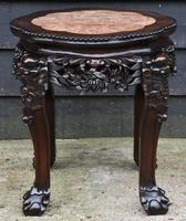Excellent Quality 19th Century Chinese Rosewood Jardiniere / Plant Stand (3 of 7)