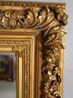 Good Late 19th Century Rectangular Giltwood Mirror (2 of 4)
