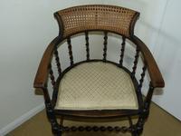 Barley Twist Oak Corner Chair (7 of 7)