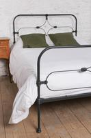 Attractive All Iron Irish Cottage Style Bed (4 of 9)