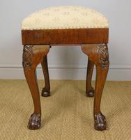 Good Quality Late Victorian Mahogany Stool (3 of 6)