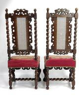 Fine Set of Four Late 17th - Early 18th Century Walnut Chairs (4 of 14)