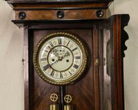 19th Century Vienna Wall Clock (3 of 7)