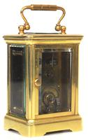Antique Miniature 8 Day Carriage Clock by Walters & George Regent Street Rare (4 of 14)