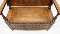 Early 20th Century  Oak Monks Bench (19 of 20)