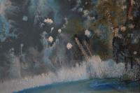 Snowman in a winter landscape by Barbara Doyle (4 of 4)