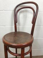 Small Red Bentwood Chair (6 of 8)