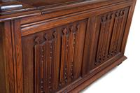 Jacobean Style Oak Monk's Bench (6 of 8)