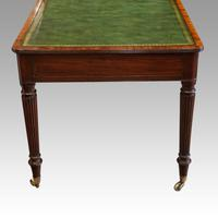 Georgian mahogany partners writing table (7 of 11)