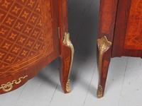 Matched Pair of French Inlaid Corner Cabinets (14 of 18)