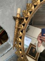 Early 20thC Spanish Gilt Brass Wall Mirror (3 of 4)
