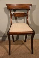 Pair of Regency Mahogany Side Chairs (3 of 7)