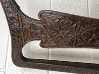 Antique Victorian Carved Oak Chair (7 of 14)