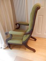 William IV arm chair, unmarked upholstery. (2 of 6)