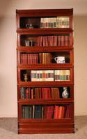 Fine Globe Wernicke Bookcase in Mahogany of 6 Elements - 19th Century (8 of 8)