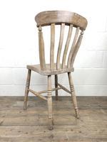 Set of Four Antique Farmhouse Kitchen Chairs (14 of 14)