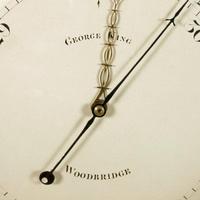 """Georgian Satinwood 10"""" Dial Barometer (7 of 8)"""
