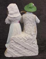 Antique Bisque Porcelain Figure Group (3 of 7)