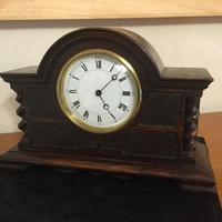 Oak Cased 1920's Mantel Clock