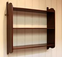 Mahogany Wall Shelves (6 of 10)