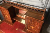 Edwardian Inlaid Rosewood Desk (8 of 23)