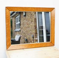Victorian Birds Eye Maple Overmantle Mirror (2 of 12)