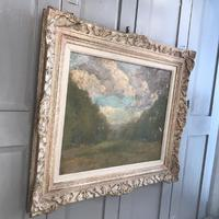Antique Impressionist study in oil on canvas by Albert de Belleroche (4 of 11)