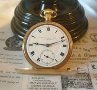 Antique Pocket Watch 1920 Thomas Russell 15 Jewel 10ct Rose Gold Filled Case Fwo (4 of 12)
