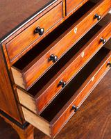 Regency Mahogany Miniature Chest of Drawers (4 of 6)